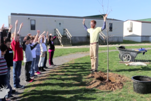 Every day is Earth Day at T.A. Lowery (video)