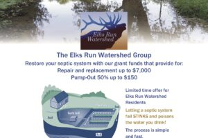 Elks Run Grant Money Available for Septic Pump Outs
